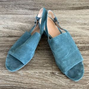 Suede Madewell Flats